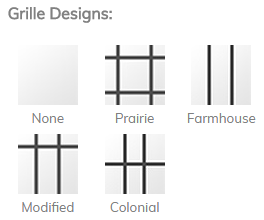 window grille design options
